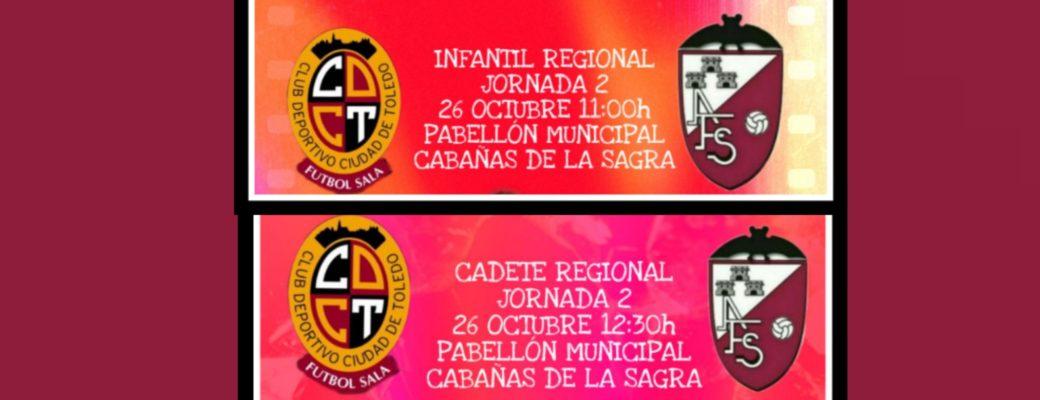 Nuestra Cantera Regional Se Enfrenta El Sábado A Ciudad De Toledo Fs.