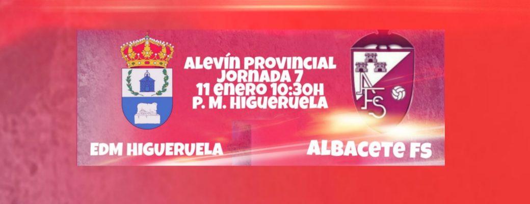 El Equipo Alevín Empieza El Año Enfrentándose A EDM Higueruela