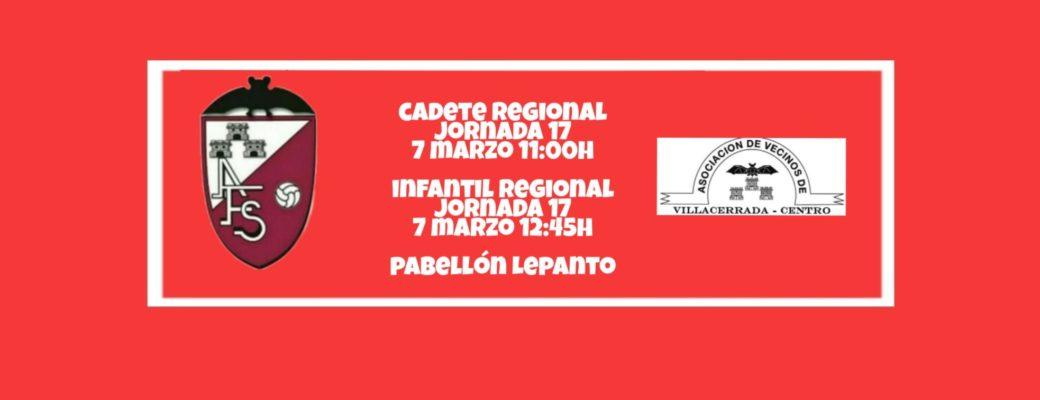 LA CANTERA REGIONAL SE ENFRENTA A VILLACERRADA.