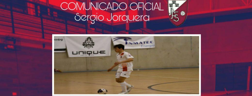 COMUNICADO OFICIAL//SERGIO JORQUERA