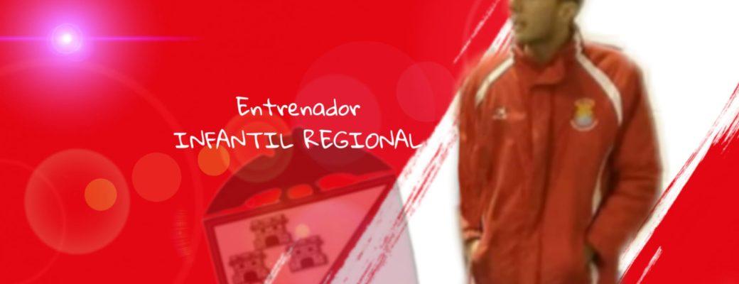 ALEX RESTA, SERÁ EL ENTRENADOR DEL INFANTIL REGIONAL.