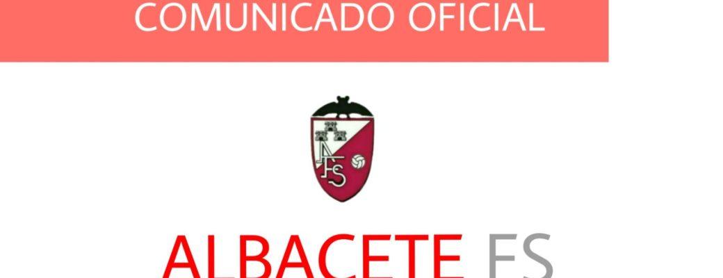 COMUNICADO OFICIAL//CAMBIO EN LA PRESIDENCIA DE ALBACETE FS.