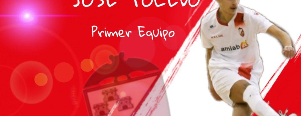 JOSÉ TOLEDO, PROMOCIONA HASTA NUESTRO PRIMER EQUIPO.