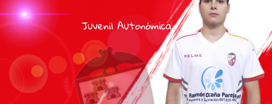 JOSÉ ANTONIO ARGANDOÑA, COMPLETA LA PLANTILLA DE NUESTRO JUVENIL AUTONÓMICA.