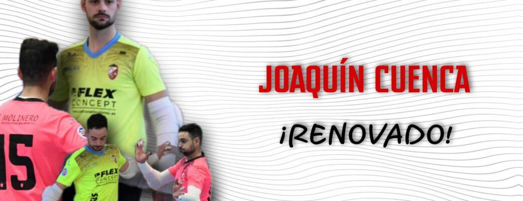 JOAQUÍN CUENCA RENUEVA CON EL ALBACETE FS.