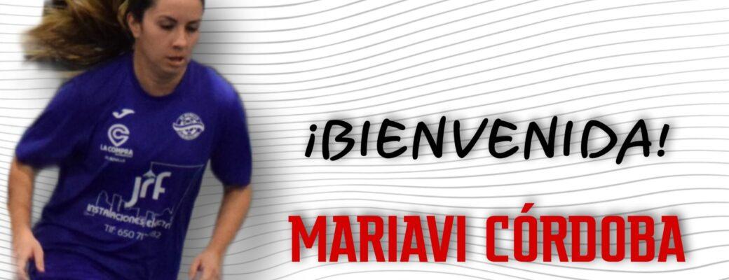 MARIAVI CÓRDOBA LLEGA AL ALBACETE FS.